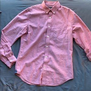 Banana Republic Pink Oxford Shirt Size M
